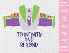 Buzz Lightyear Quote To Infinity and Beyond from Toy Story Disney Insp – Ideas with love Toy Story Room, New Toy Story, Festa Toy Story, Toy Story Party, Disney Diy, Disney Crafts, Buzz Lightyear Quotes, Toy Story Zimmer, Toy Story Quotes