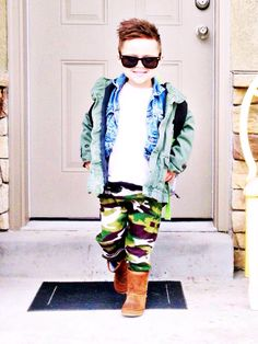 A personal favorite from my Etsy shop https://www.etsy.com/listing/223645053/camo-childrens-harem-pants-baby-harem