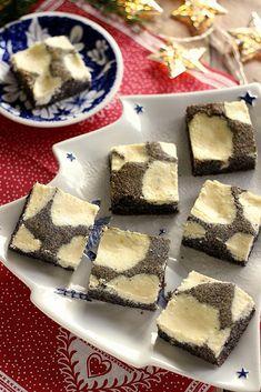 Juditka konyhája: ~ MÁKOS TÚRÓS KOCKA ~ Baked Goods, Cheesecake, Cooking Recipes, Baking, Poppy, Cakes, Food, Cake Makers, Cheesecakes