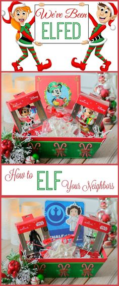 Have you ever been elfed or elfed someone else? Elfing my neighbors is my new favorite tradition! Don't worry, it's perfectly harmless, but once you see how much fun it is, you'll want to make it your new holiday tradition. #SendHallmark #ad