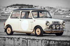 There are plenty of other '60s-era Minis around. But few of them have a racing pedigree. And even fewer were driven by a woman. This 1963 Mini Cooper S Race Car was, with Maria Graça Moura Relvas winning the 1965 Grande Rally Benfica behind the wheel, making full use of the 1071 cc engine and four-speed gearbox. The car was later sold to Nelson De Moura of De Moura steering wheels, who outfitted one of his own in the car, and has been featured in multiple magazines.