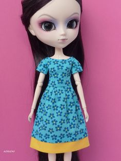 Dress for Pullip doll por Kosucas en Etsy, €6.50