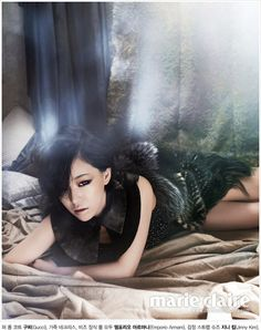 Brown Eyed Girls (Ga In) for Marie Claire Magazine