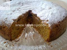 ΤΑΧΙΝΟΠΙΤΑ ΚΕΙΚ(Vegan) – Koykoycook Banana Bread, Muffin, Cooking, Breakfast, Cake, Sweet, Desserts, Recipes, Food