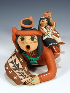 Pueblo Pottery Storyteller Dolls and Figurines from Jemez, Acoma and More