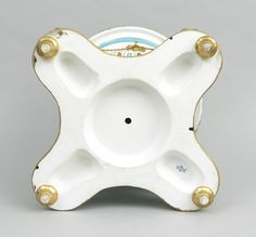 914. An Elaborate and Large Porcelain Jardiniere, French. ca. early 20th century - May 2007 Auction - ASPIRE AUCTIONS