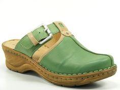 Josef Seibel Schuhe Sandalen Pantoletten Clogs grün Catalonia 17, Schuhgröße:35: Amazon.de: Schuhe & Handtaschen