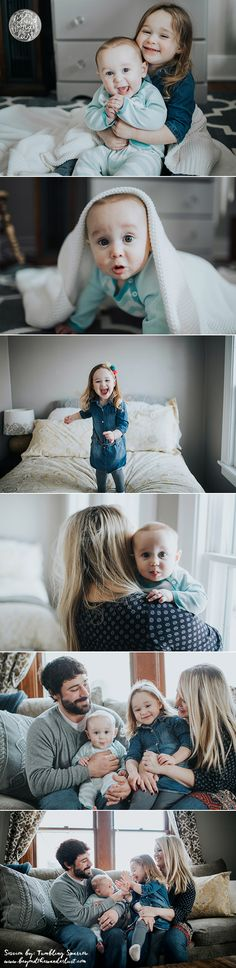 family in home session >> lifestyle picture ideas