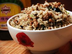 Chinese Pickled Olive Fried Rice - super tasty and quick to put together. Used chicken slices instead of minced pork. Frying with chili padi gives the right kick :)