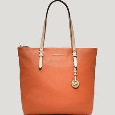 MICHAEL Michael Kors Tote - Jet Set Large North/South Top Zip
