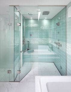 Wet Room - Aqua Tiles - Shower - Bathroom ideas - Modern - Innovative ideas - space saving - installing a wet room