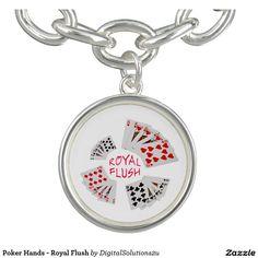 Poker Hands - Royal Flush Bracelet