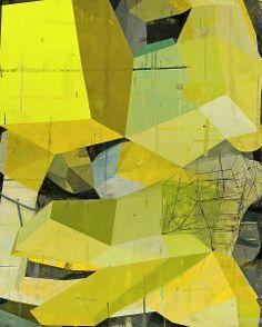 "Deborah Zlotsky ""Insofar"" 2012, Oil on canvas, 60 x 48 inches"