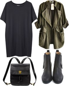 """casual"" by emiliahawk ❤ liked on Polyvore"