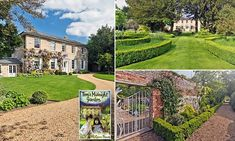 For sale, Tom's real Midnight Garden: Country house that inspired Philippa Pearce's beloved children's novel goes on the market for £3.5million #DailyMail