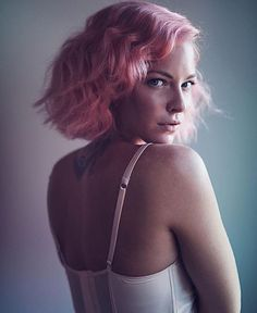#Classic beauty @kayleymull  used a mixture of #CottonCandyPink  with a bit of #Wildfire  for this soft blush shade!