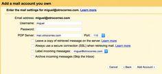 Cómo agregar cuentas de correo externas a Gmail y organizarlas con etiquetas