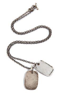 werkstatt munchen silver necklace