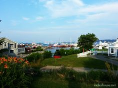 The harbor in #Rockland #Maine on a July evening. I shot this with my phone - it was that easy.