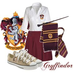 Gryffindor, created by marylee on Polyvore