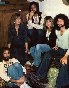 1975 Fleetwood Mac. Young, beautiful and full of possibilities.