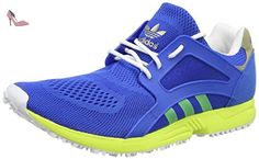 Conquisto II in, Chaussures de Football Homme, Multicolore (Energy Blue S17/Core Black/Solar Yellow), 42 2/3 EUadidas