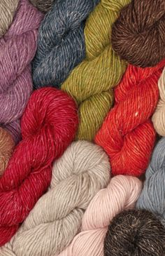 DROPS ♥ You #2    A delicious luxury yarn with a combination of the best properties from three of the finest fibers; Alpaca represents the softest of the soft, Wool makes the yarn more durable, and Linen provides an exciting rustic look and creates a tweed-like and fine texture.