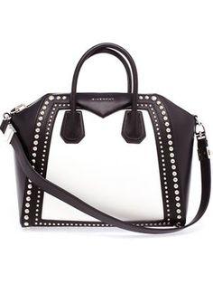 Mittelgroße 'Antigona' Handtasche mit Nieten