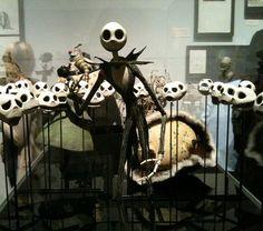 Tim Burton exhibit at the MoMA~