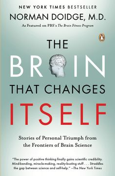 The Brain That Changes Itself: Stories of Personal Triumph from the Frontiers of Brain Science is a book on neuroplasticity by psychiatrist and psychoanalyst Norman Doidge, M. Reading Lists, Book Lists, Reading Notes, Good Books, Books To Read, Brain Science, Life Science, Computer Science, Life Changing Books
