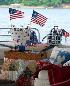 Reminds me of when we used to spend all day on the 4th in our boat with friends awaiting the fireworks!  Still have the boat and friends but not the energy !!!
