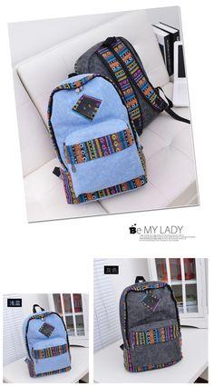 Novas mulheres femininas breve mochila de lona estilo preppy escola mochila laptop escola estudante Lady menina bolsas em Mochilas de Mochilas & bagagem no AliExpress.com | Alibaba Group