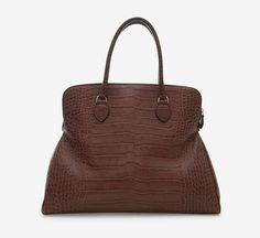 Alaïa Burgendy Shoulder Bag   VAUNTE