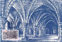 Timbre : 1981 abbaye de Vaucelles - nord | WikiTimbres