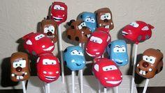 Disney Cars Cakepops