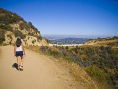 Best Hikes & Hiking Trails in Los Angeles, California - Thrillist Oh The Places You'll Go, Places To Visit, Hikes In Los Angeles, Sunken City, Santa Monica Mountains, Griffith Park, City Of Angels, Best Hikes, Abandoned Mansions