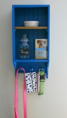 Pet Supplies Organizer Pet Station Dog by FancifulFurnitureEtc