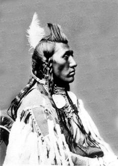 Crow chief Pretty Eagle, Déaxitchish. 1846-1905. A reservation-era leader who was recognized by 1890 along with Plenty Coups as head chief of the Crow Tribe.