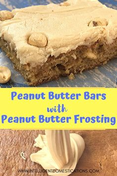 Peanut Butter Lovers enjoy this old fashioned recipe just like the lunch lady made in school. Peanut Butter Bars with Peanut Butter Frosting on top. We have added dry roasted peanuts to the mix and the frosting for an added bite of flavor. Peanut Butter Sheet Cake, Peanut Butter Desserts, Peanut Butter Frosting, Peanut Butter Bars, Homemade Desserts, Delicious Desserts, Delicious Dishes, Yummy Treats, Sweet Treats