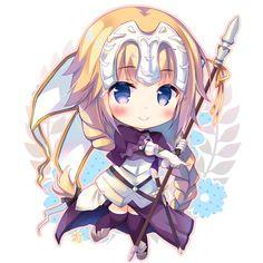 Jeanne d'Arc chibi