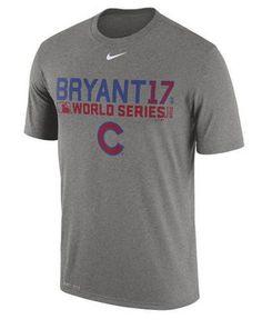 0f7c4f7d1c0 Chicago Cubs Kris Bryant Nike MLB Men s World Series Bound Legend Player  T-Shirt