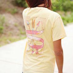 Lily Grace 'Follow Your Arrow' T-Shirt www.shoplilygrace.com