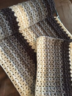 #vstitch blanket. Love this yarn
