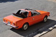 Lancia Beta Spider S1 (Rosso Capannelle)