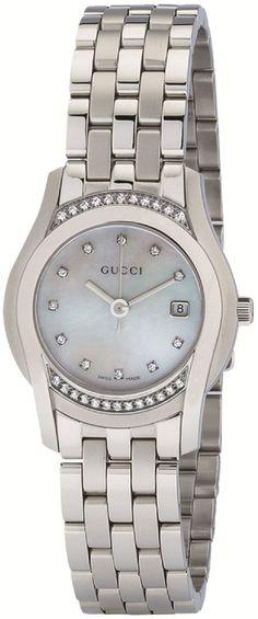 Gucci Watch , Gucci Women's YA055510 G-Class Mother of Pearl & Diamond Watch...$1,795.00