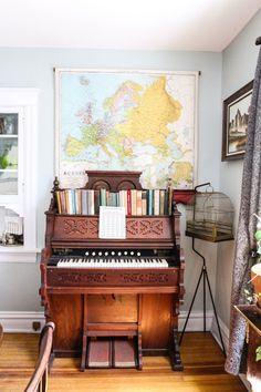 An Artist's Eclectic Kitchen