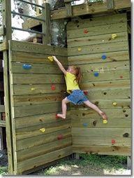 climbing wall diy\ - Google Search