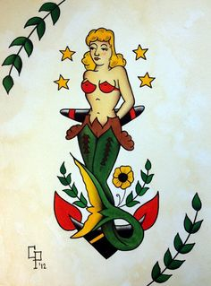 Original Sailor Jerry Tattoo Pictures To Pin On Pinterest cakepins.com
