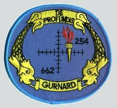 USS Gurnard (SSN-662) unit insignia patch