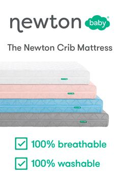 Newborn Schedule Discover The Newton Crib Mattress For new parents and veteran parents introducing the Newton crib mattress! This baby mattress is breathable and washable to put your mind at ease. Baby Crib Mattress, Baby Bassinet, Buy Buy Baby Cribs, Baby Crib Mobile, Baby Mobiles, Small Baby Bed, Cool Baby Stuff, Babies Stuff, Best Baby Cribs